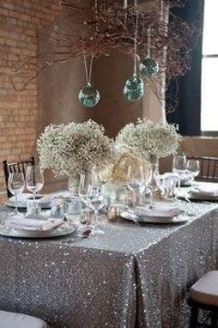 Glittery Holiday Decor