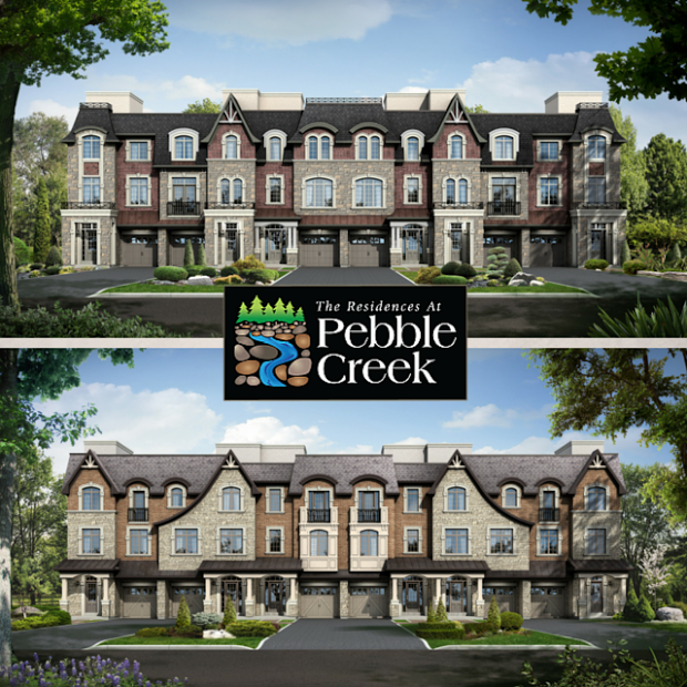 The Residences at Pebble Creek - Rendering