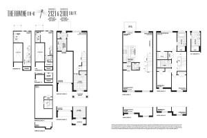 The residences at Pebble creek - Floorplan- The Ravine