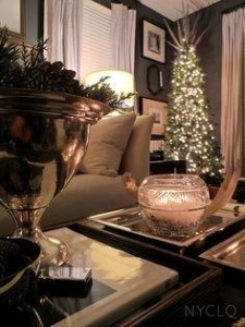 Holiday Decorating Trends Skinny Tree