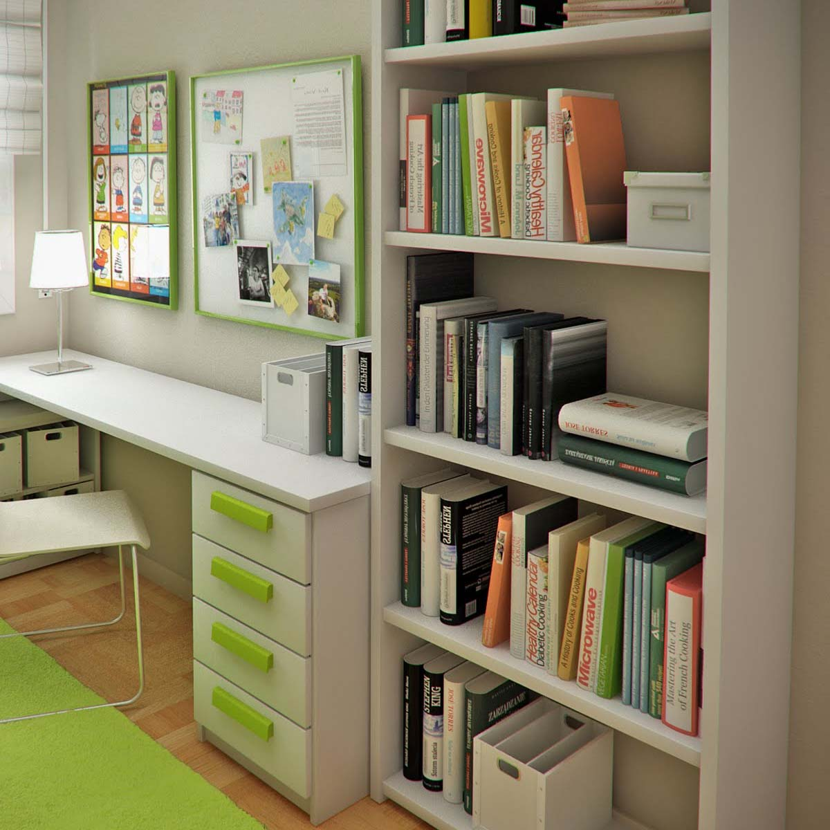 Ideas for the perfect children's Study Space