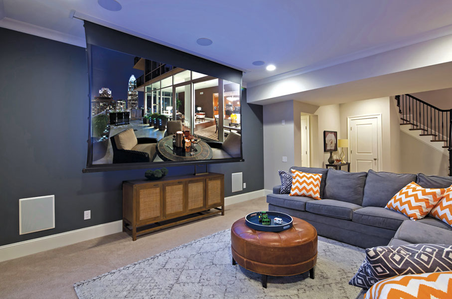 Transform your family room into the perfect movie theatre