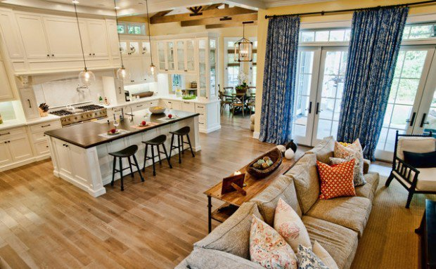 interior design ideas for an open concept floor plan