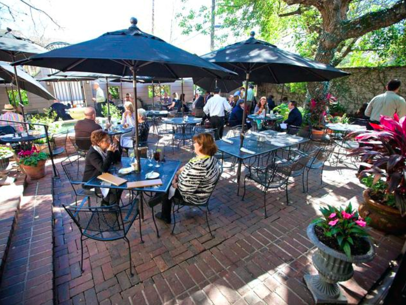 Patios in Downtown Whitby